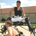 In charge of riding Mistress