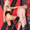 Mistress Amy gets nasty with her male