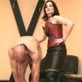 Licking slaves for Mistress Helena