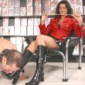 Slaves serving their Mistress by shopping